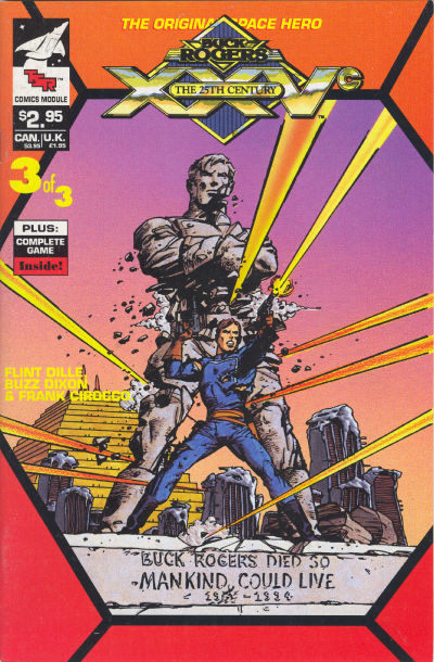 Cover for Buck Rogers Comics Module (TSR, 1990 series) #3