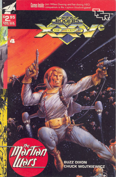 Cover for Buck Rogers Comics Module (TSR, 1990 series) #7