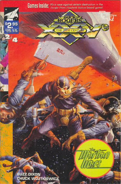 Cover for Buck Rogers Comics Module (TSR, 1990 series) #8