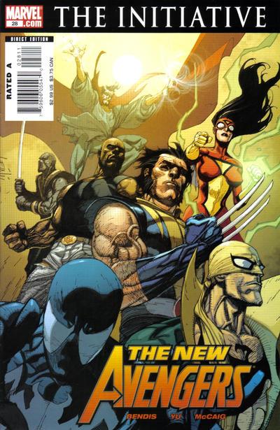 Cover for New Avengers (Marvel, 2005 series) #28