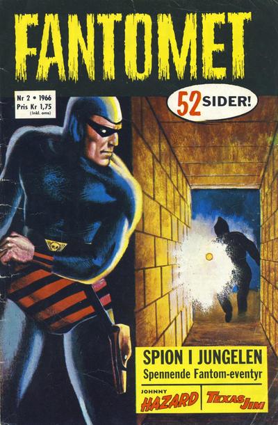 Cover for Fantomet (Romanforlaget, 1966 series) #2/1966