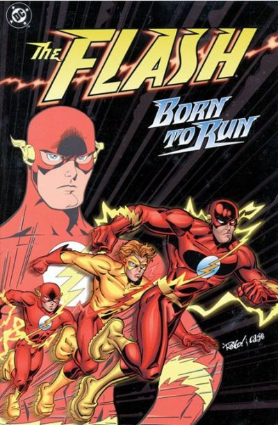 Cover for The Flash: Born to Run (DC, 1999 series)