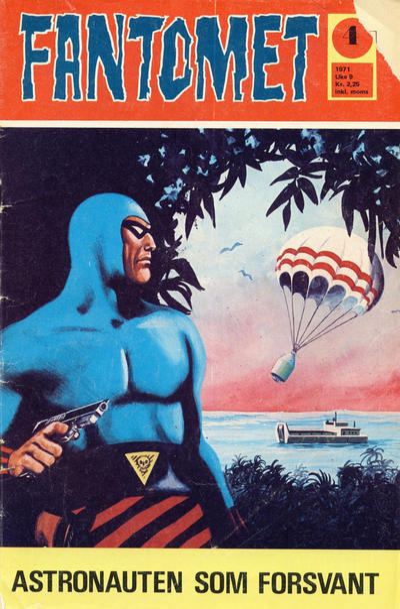 Cover for Fantomet (Romanforlaget, 1966 series) #4/1971