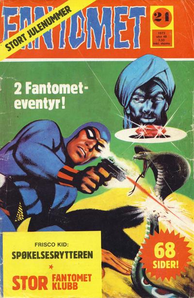 Cover for Fantomet (Nordisk Forlag, 1973 series) #24/1973
