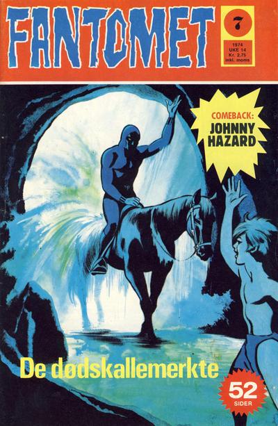 Cover for Fantomet (Nordisk Forlag, 1973 series) #7/1974