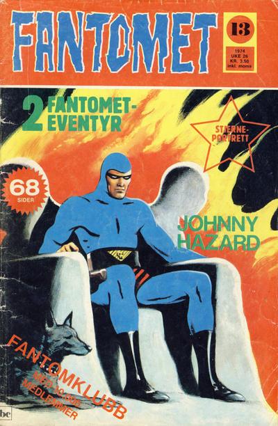 Cover for Fantomet (Nordisk Forlag, 1973 series) #13/1974
