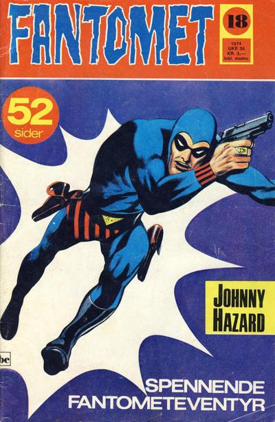 Cover for Fantomet (Nordisk Forlag, 1973 series) #18/1974