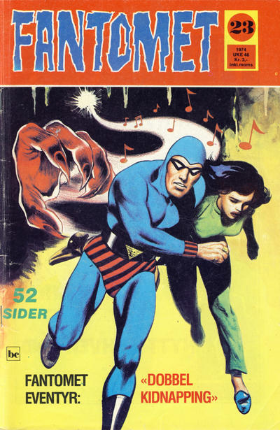 Cover for Fantomet (Nordisk Forlag, 1973 series) #23/1974
