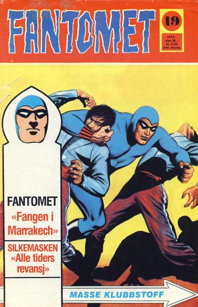 Cover for Fantomet (Nordisk Forlag, 1973 series) #19/1975