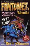 Cover for Fantomets krønike (Semic, 1989 series) #1/1989