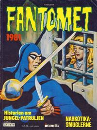 Cover Thumbnail for Fantomet årsalbum (Semic, 1977 series) #1981