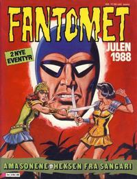 Cover Thumbnail for Fantomet julehefte (Semic, 1987 series) #1988
