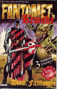 Cover Thumbnail for Fantomets krønike (Semic, 1989 series) #2/1989