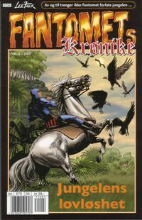 Cover Thumbnail for Fantomets krønike (Hjemmet / Egmont, 1998 series) #4/2007