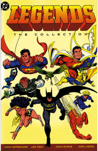 Cover for Legends: The Collection (DC, 1993 series)
