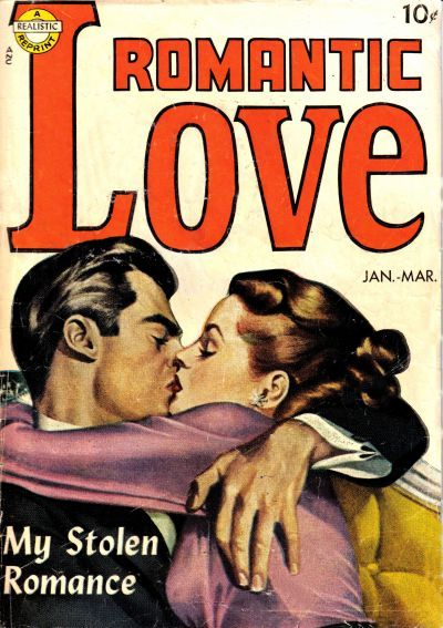 Cover for Romantic Love (Avon, 1949 series) #[nn]