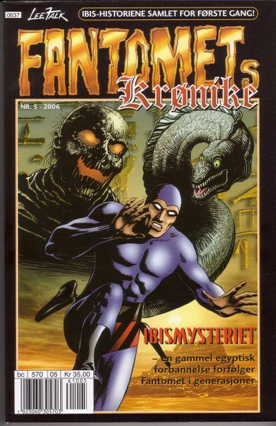 Cover for Fantomets krønike (Hjemmet / Egmont, 1998 series) #5/2006