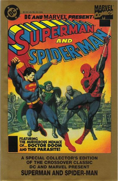 Cover for Superman and Spider-Man (Marvel; DC, 1995 series) #1