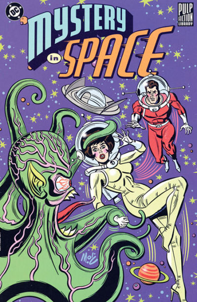 Cover for Pulp Fiction Library: Mystery in Space (DC, 1999 series)
