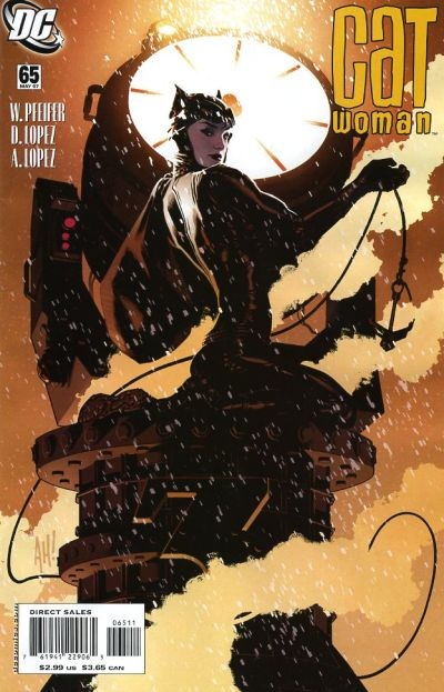Cover for Catwoman (DC, 2002 series) #65