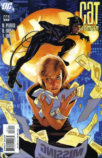 Cover for Catwoman (DC, 2002 series) #66