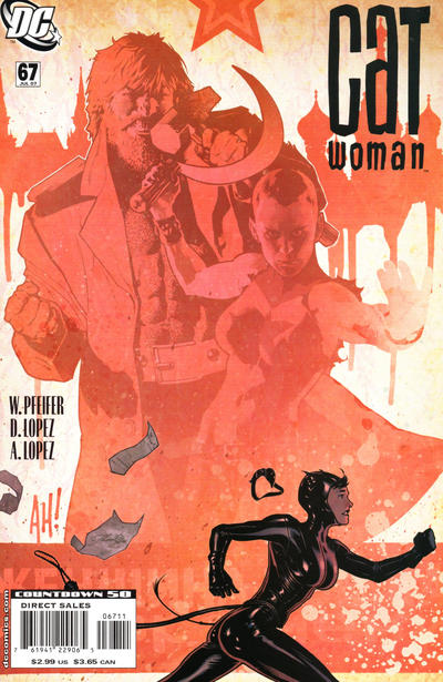 Cover for Catwoman (DC, 2002 series) #67
