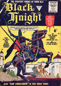 Cover Thumbnail for Black Knight (L. Miller & Son, 1955 series) #1