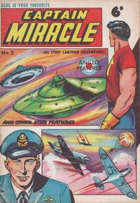 Cover Thumbnail for Captain Miracle (Mick Anglo Ltd., 1960 series) #5