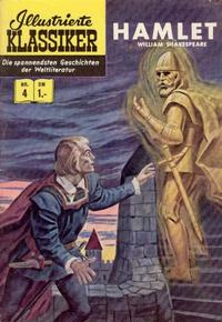 Cover Thumbnail for Illustrierte Klassiker [Classics Illustrated] (BSV - Williams, 1956 series) #4 - Hamlet [HLN 16]