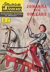 Cover for Illustrierte Klassiker [Classics Illustrated] (BSV - Williams, 1956 series) #11 - Johanna von Orleans