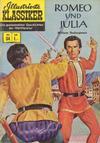 Cover for Illustrierte Klassiker [Classics Illustrated] (BSV - Williams, 1956 series) #34 - Romeo und Julia
