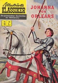 Cover Thumbnail for Illustrierte Klassiker [Classics Illustrated] (BSV - Williams, 1956 series) #11 - Johanna von Orleans [HLN 16]