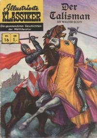 Cover Thumbnail for Illustrierte Klassiker [Classics Illustrated] (BSV - Williams, 1956 series) #16 - Der Talisman [HLN 16]