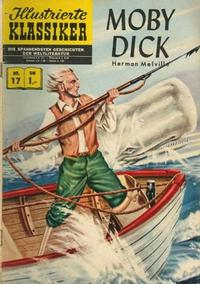 Cover Thumbnail for Illustrierte Klassiker [Classics Illustrated] (BSV - Williams, 1956 series) #17 - Moby Dick [HLN 32]