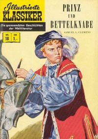 Cover Thumbnail for Illustrierte Klassiker [Classics Illustrated] (BSV - Williams, 1956 series) #18 - Prinz und Bettelknabe  [HLN 32]