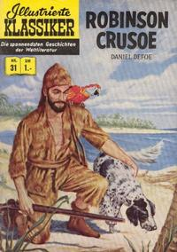 Cover Thumbnail for Illustrierte Klassiker [Classics Illustrated] (BSV - Williams, 1956 series) #31 - Robinson Crusoe [HLN 32]