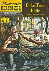 Cover Thumbnail for Illustrierte Klassiker [Classics Illustrated] (BSV - Williams, 1956 series) #33 - Onkel Toms Hütte [HLN 34]