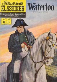 Cover Thumbnail for Illustrierte Klassiker [Classics Illustrated] (BSV - Williams, 1956 series) #35 - Waterloo [HLN 36]