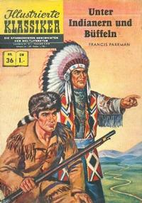 Cover Thumbnail for Illustrierte Klassiker [Classics Illustrated] (BSV - Williams, 1956 series) #36 - Unter Indianern und Büffeln [HLN 36]