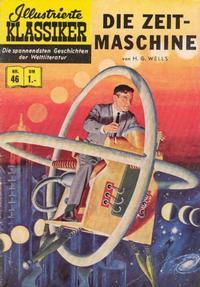 Cover Thumbnail for Illustrierte Klassiker [Classics Illustrated] (BSV - Williams, 1956 series) #46 - Die Zeitmaschine [HLN 48]