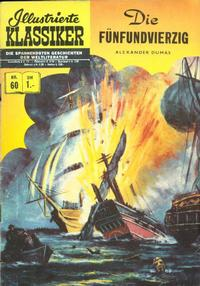 Cover Thumbnail for Illustrierte Klassiker [Classics Illustrated] (BSV - Williams, 1956 series) #60 - Die Fünfundvierzig [HLN 62]