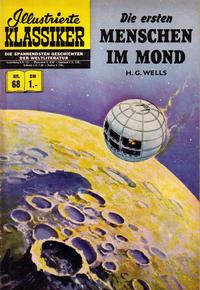 Cover Thumbnail for Illustrierte Klassiker [Classics Illustrated] (BSV - Williams, 1956 series) #68 - Die ersten Menschen im Mond [HLN 70]