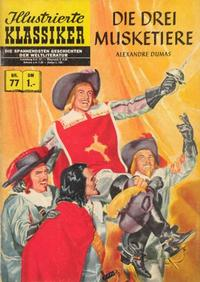 Cover Thumbnail for Illustrierte Klassiker [Classics Illustrated] (BSV - Williams, 1956 series) #77 - Die drei Musketiere [HLN 76]