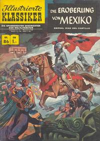 Cover Thumbnail for Illustrierte Klassiker [Classics Illustrated] (BSV - Williams, 1956 series) #86 - Die Eroberung von Mexiko [HLN 86]
