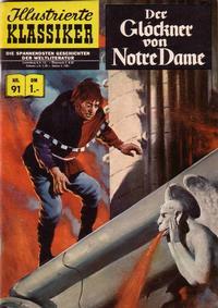 Cover Thumbnail for Illustrierte Klassiker [Classics Illustrated] (BSV - Williams, 1956 series) #91 - Der Glöckner von Notre Dame [HLN 88]