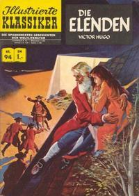 Cover Thumbnail for Illustrierte Klassiker [Classics Illustrated] (BSV - Williams, 1956 series) #94 - Die Elenden