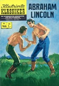 Cover Thumbnail for Illustrierte Klassiker [Classics Illustrated] (BSV - Williams, 1956 series) #166 - Abraham Lincoln