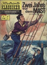 Cover Thumbnail for Illustrierte Klassiker [Classics Illustrated] (BSV - Williams, 1956 series) #176 - Zwei Jahre vor dem Mast