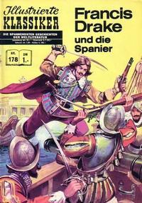 Cover Thumbnail for Illustrierte Klassiker [Classics Illustrated] (BSV - Williams, 1956 series) #178 - Francis Drake und die Spanier