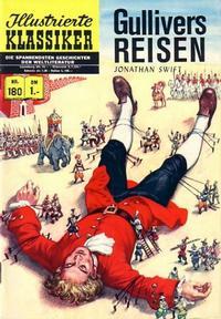Cover Thumbnail for Illustrierte Klassiker [Classics Illustrated] (BSV - Williams, 1956 series) #180 - Gullivers Reisen